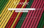 Google - wyszukiwarka z własnym tłem