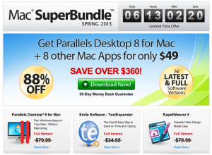 Mac SuperBundle Spring 2013