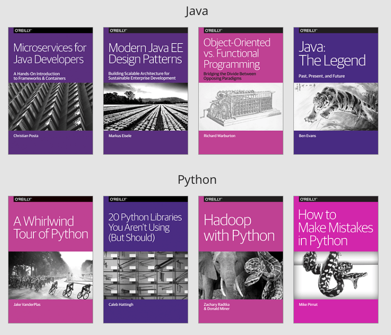 Free Programming Ebooks: Java & Python