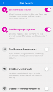 Revolut - Card Security