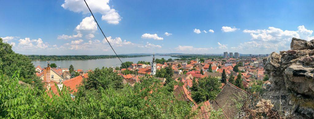Belgrad - widok na Dunaj
