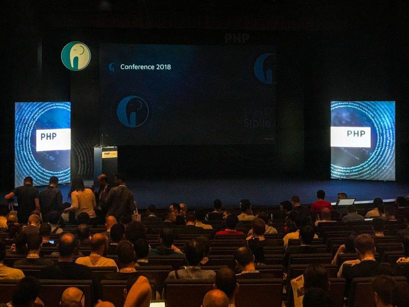 PHP Srbija 2018 - czekając na rozpoczęcie
